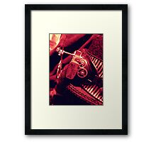 Steampunk Ladies Hat 2.1 Framed Print