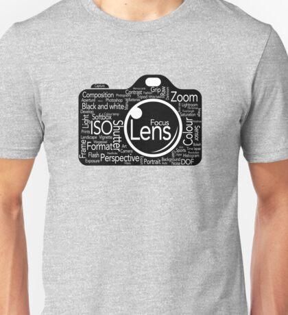 Photographers Vocab Unisex T-Shirt