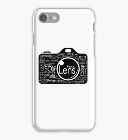 Photographers Vocab iPhone Case/Skin