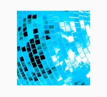 Blue Funky Disco Ball Unisex T-Shirt