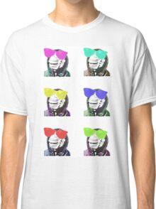 Chimps be Chillin - Grid Colours Classic T-Shirt