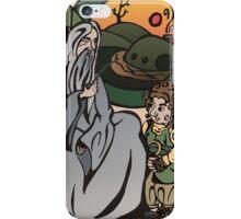 Gandalf y Bilbo iPhone Case/Skin