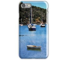 Luxury yachts in Watercolor iPhone Case/Skin