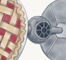 Pie Fighter Sticker