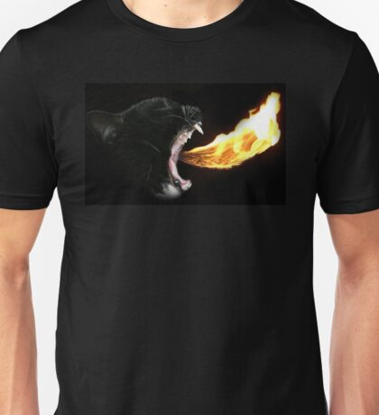Flame Tongue Kitty Unisex T-Shirt