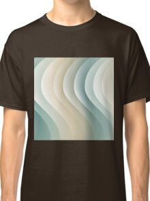 Abstract waves 3 Classic T-Shirt