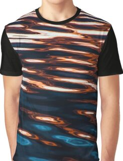 Waves of Color Graphic T-Shirt