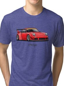 RWB (red) Tri-blend T-Shirt
