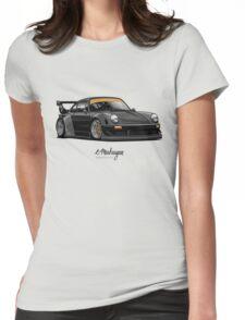 RWB (black) Womens Fitted T-Shirt