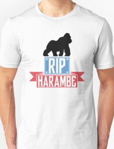 RIP Harambe (Colored) Unisex T-Shirt