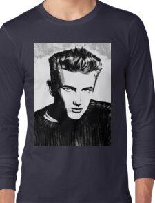 Jimmy Dean: Black & White Long Sleeve T-Shirt