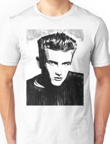 Jimmy Dean: Black & White Unisex T-Shirt