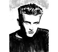 Jimmy Dean: Black & White Photographic Print