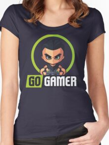 Gamers Unite! Go Gamers! Women's Fitted Scoop T-Shirt