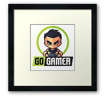 Gamers Unite! Go Gamers! Framed Print