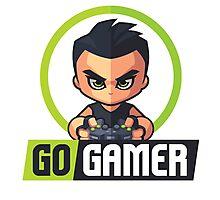 Gamers Unite! Go Gamers! Photographic Print