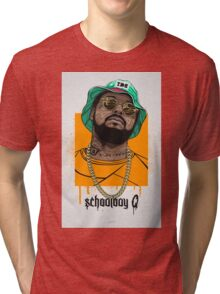 schoolboy q oxymoron Tri-blend T-Shirt