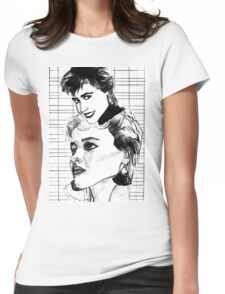 The look Womens Fitted T-Shirt