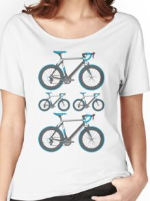 Road Bike Graphic Women's Relaxed Fit T-Shirt