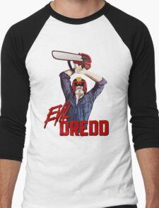 Evil Dredd Men's Baseball ¾ T-Shirt