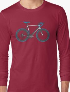 Road Bike Graphic-Sprinter Long Sleeve T-Shirt