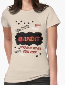 More Shoot Bits for Brain Splats! Womens Fitted T-Shirt