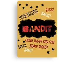More Shoot Bits for Brain Splats! Canvas Print