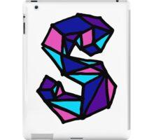 Letter S iPad Case/Skin