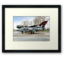 Panavia Tornado GR.4 ZA412 617 Sqn Framed Print