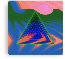 Geometry Glitch n.1 Canvas Print