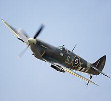 BBMF Spitfire MK356 by Nigel Bangert