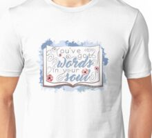 Nevernight - You've Got Words In Your Soul (blue) Unisex T-Shirt