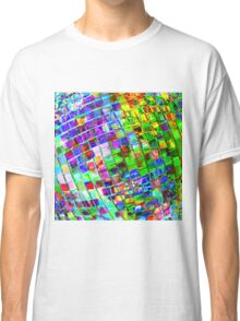 Psychedelic Planet Disco Ball Classic T-Shirt
