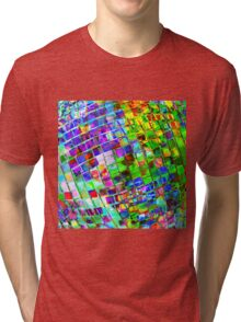 Psychedelic Planet Disco Ball Tri-blend T-Shirt