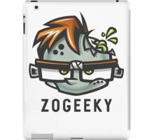 Zombies and Geeks iPad Case/Skin