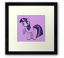 Twilight Sparkle (My Little Pony) (W/V) Framed Print