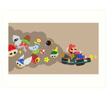 Mario Kart Item fury  Art Print