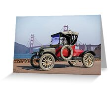 1915 Ford Model T Roadster Greeting Card