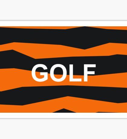 GOLF WANG PRINT Sticker