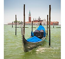 Gondola in Venice Photographic Print