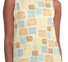 Fruit in Retro Contrast Tank