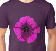 Purple Petunia Unisex T-Shirt