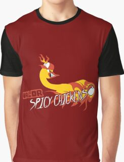 Valor Spicy Chickens Graphic T-Shirt