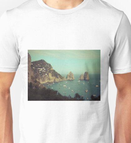 Amalphi coast, Capri, Italy 4 Unisex T-Shirt