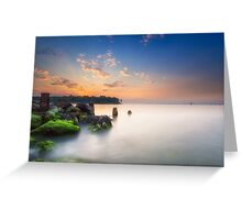 Fishbourne Breakwater Sunset Greeting Card