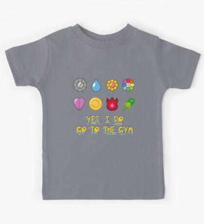 Pokémon Gym Hero - Indigo League Kids Tee