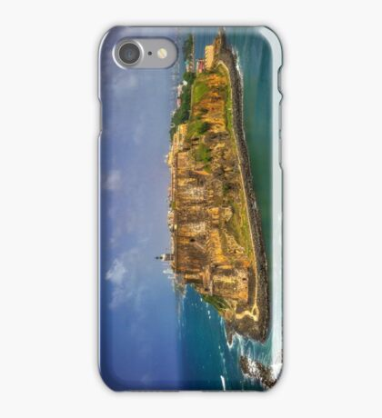 El Morro Fort San Juan, Puerto Rico iPhone Case/Skin