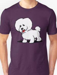 Bichon Frise cartoon dog Unisex T-Shirt