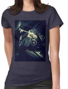 Steampunk Ladies Hat 2.2 Womens Fitted T-Shirt