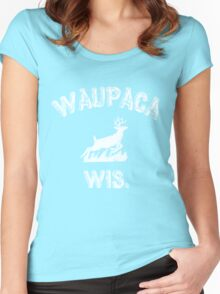 Dustin's Shirts WAUPACA WIS. Women's Fitted Scoop T-Shirt